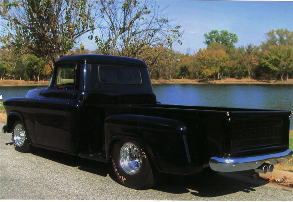 1957 CHEVROLET 3200 CUSTOM PICKUP - Rear 3/4 - 71040