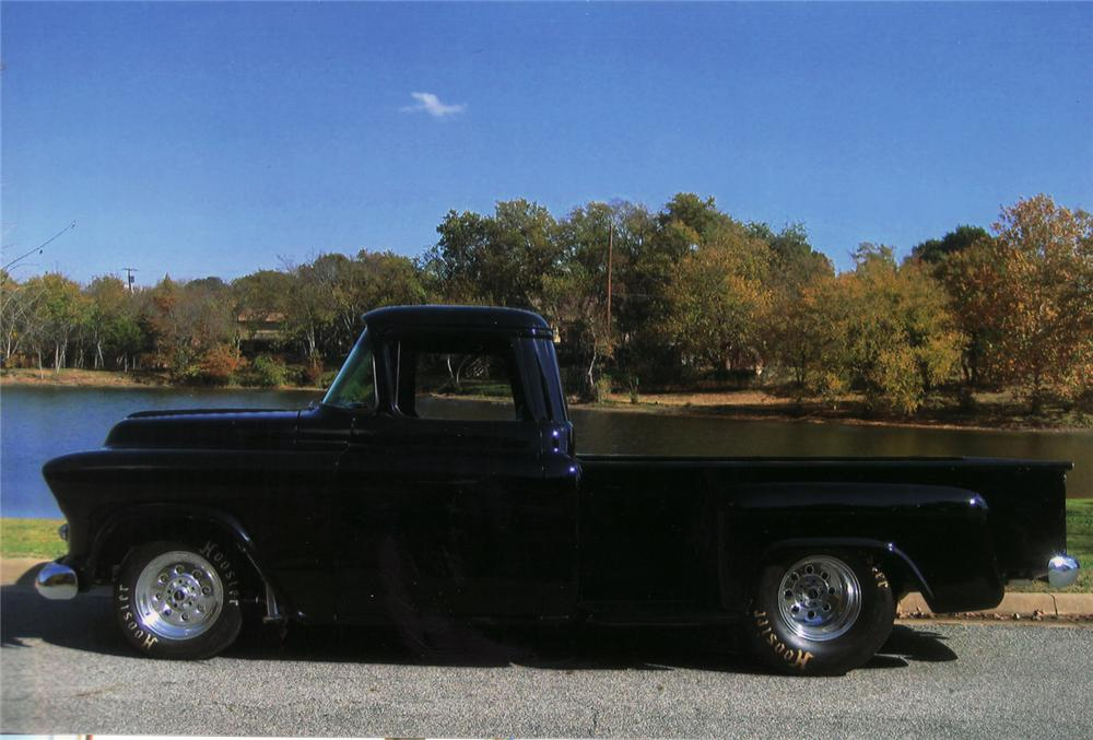 1957 CHEVROLET 3200 CUSTOM PICKUP - Side Profile - 71040