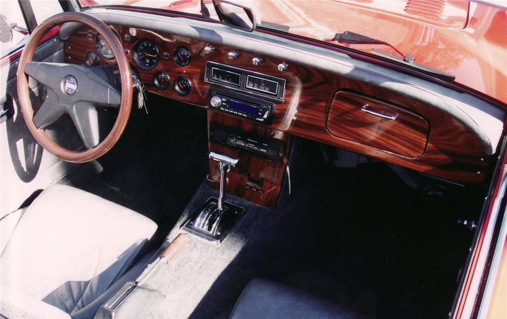 1962 AUSTIN-HEALEY 3000 CONVERTIBLE RESTO-ROD - Interior - 71041