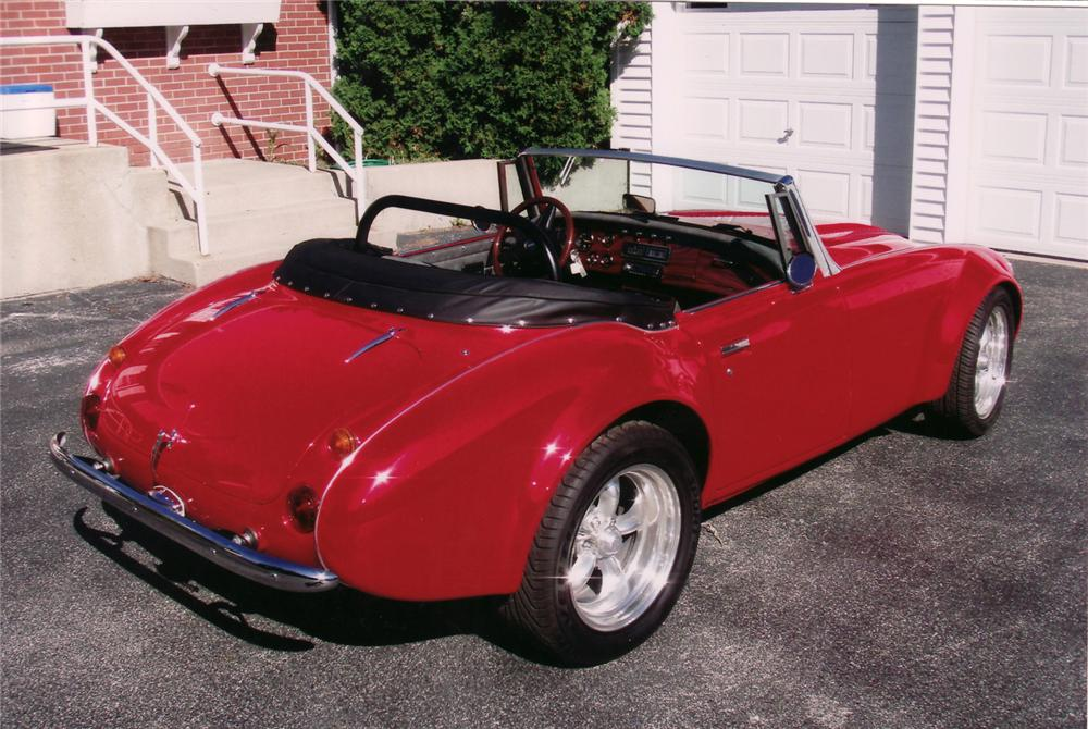 1962 AUSTIN-HEALEY 3000 CONVERTIBLE RESTO-ROD - Rear 3/4 - 71041