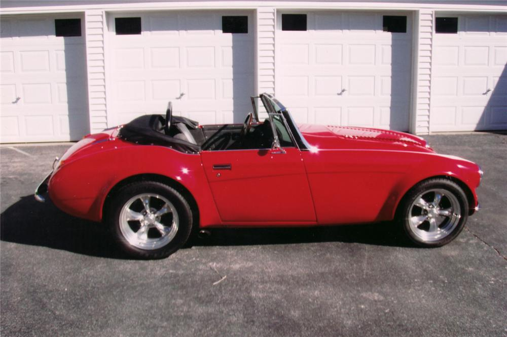 1962 AUSTIN-HEALEY 3000 CONVERTIBLE RESTO-ROD - Side Profile - 71041
