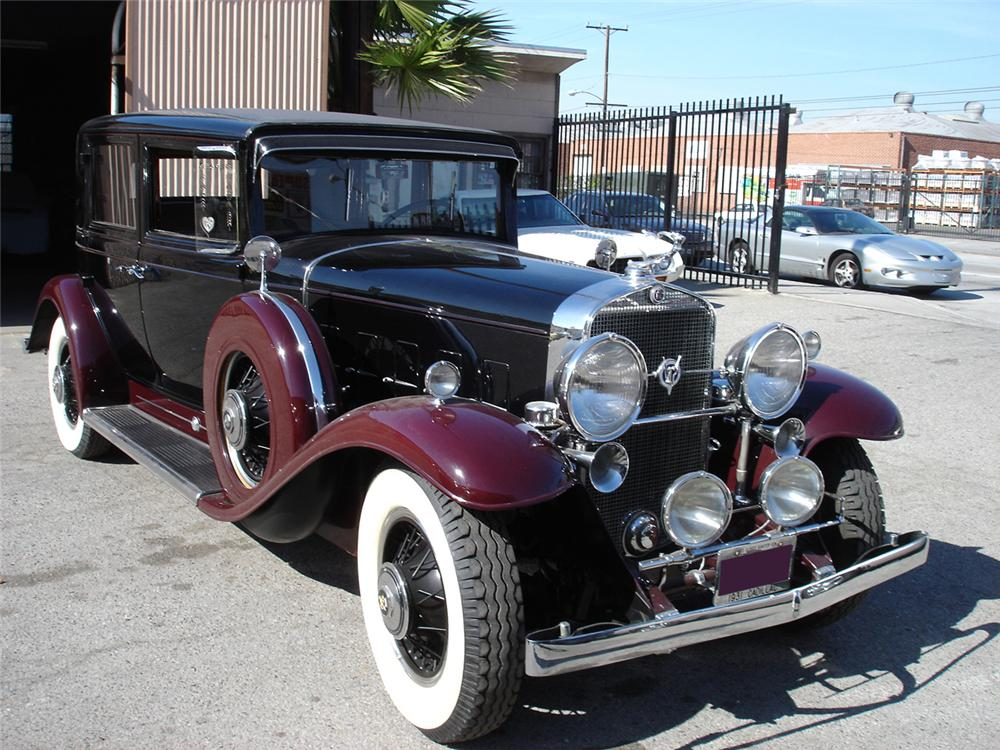 Exceptionnel 1931 CADILLAC 370 A 4 DOOR TOWN SEDAN - 71044 HM93