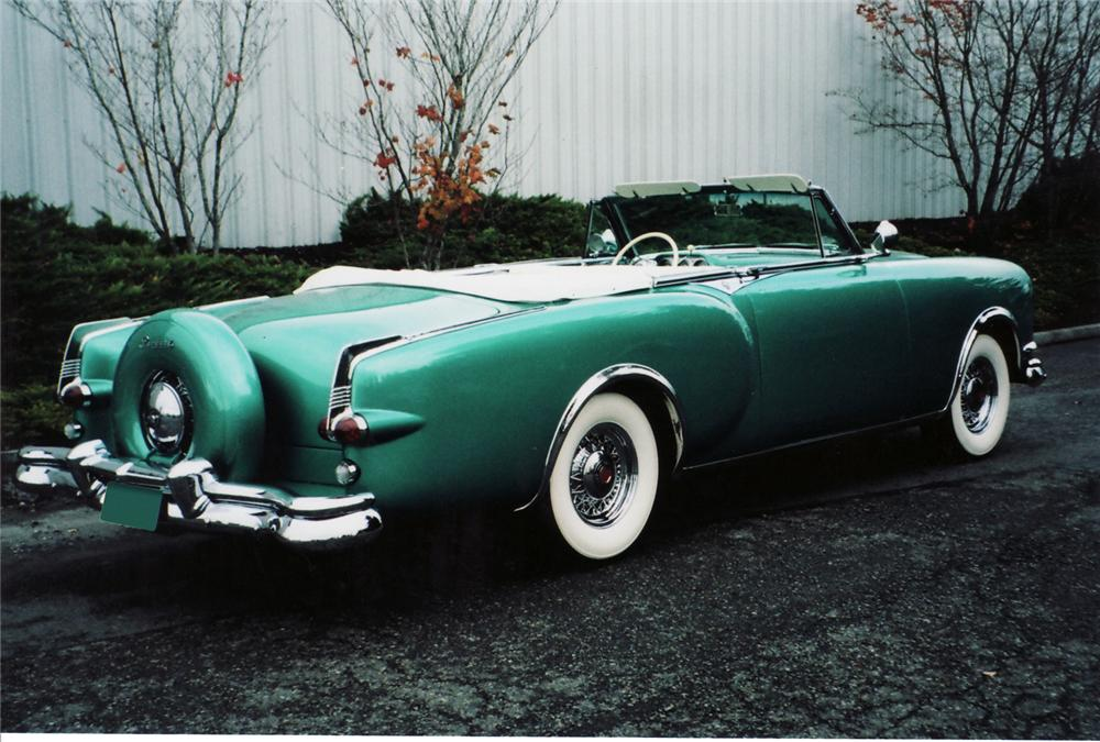 1953 PACKARD CARIBBEAN CONVERTIBLE - Rear 3/4 - 71056
