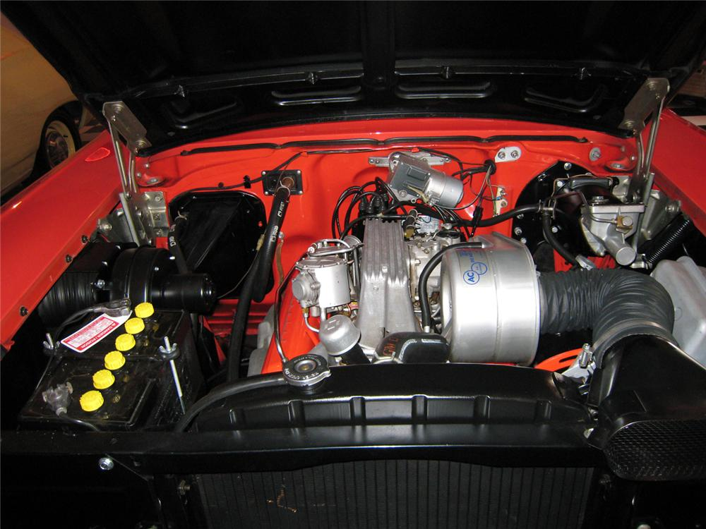 1957 CHEVROLET BEL AIR FI CONVERTIBLE - Engine - 71062