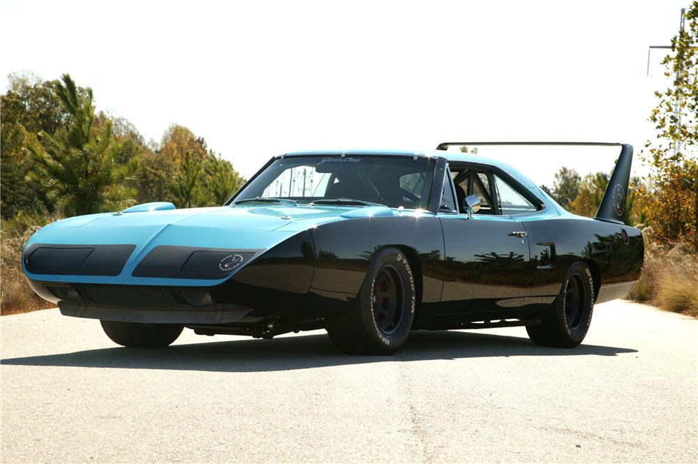 1970 PLYMOUTH SUPERBIRD CUSTOM TRIBUTE - Front 3/4 - 71064
