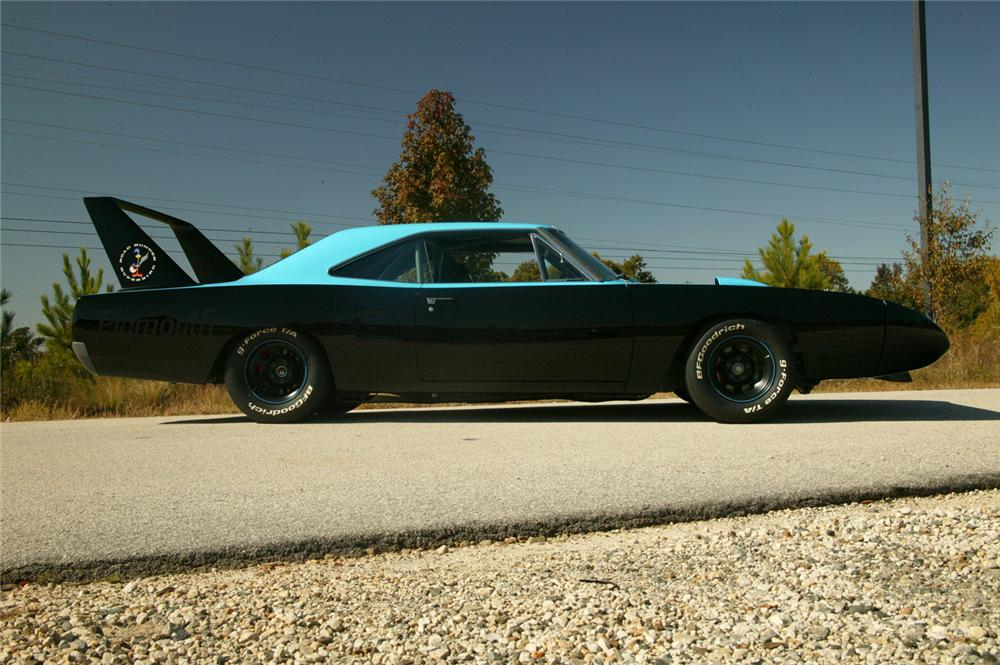 1970 PLYMOUTH SUPERBIRD CUSTOM TRIBUTE - Side Profile - 71064