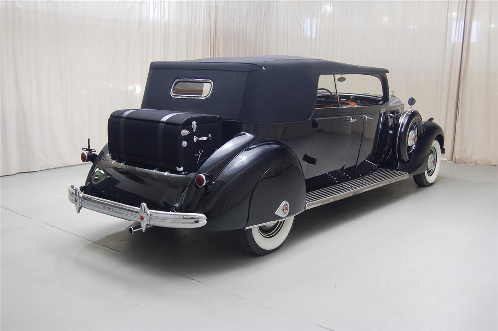 1937 PACKARD 120 PHAETON - Rear 3/4 - 71066