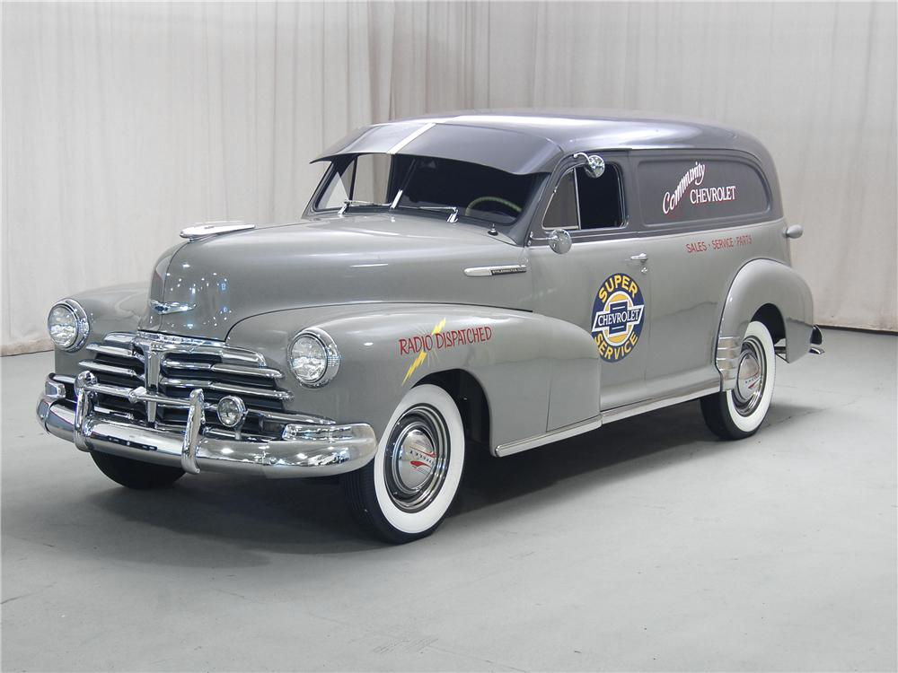 1948 CHEVROLET STYLEMASTER SEDAN DELIVERY - Front 3/4 - 71068