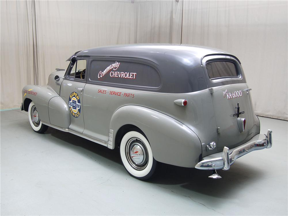 1948 CHEVROLET STYLEMASTER SEDAN DELIVERY - Rear 3/4 - 71068