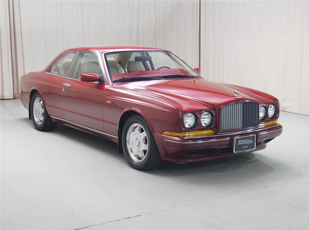 1995 BENTLEY CONTINENTAL R COUPE - Front 3/4 - 71070
