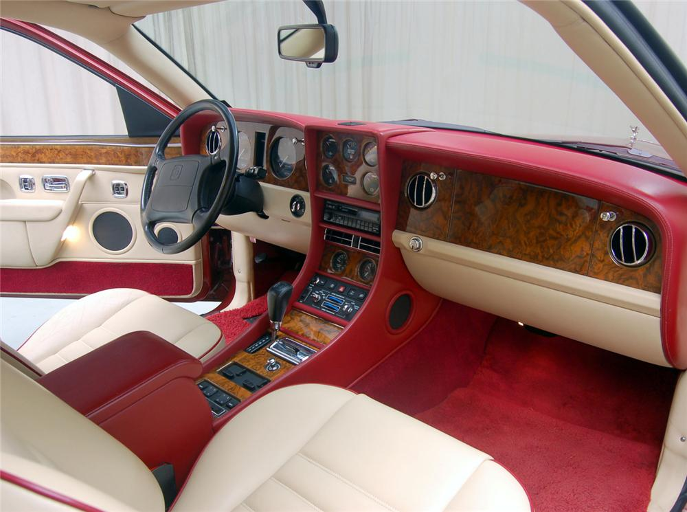 1995 BENTLEY CONTINENTAL R COUPE - Interior - 71070