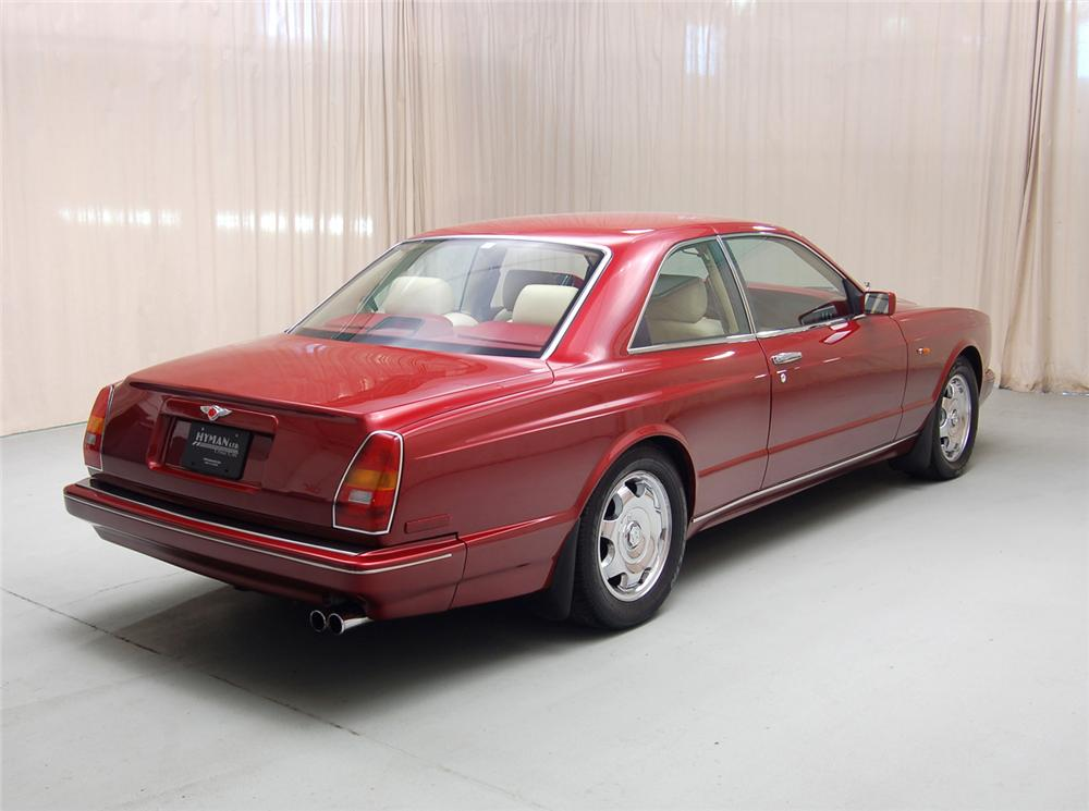 1995 BENTLEY CONTINENTAL R COUPE - Rear 3/4 - 71070