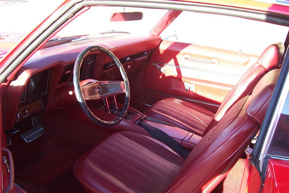 1969 CHEVROLET CAMARO COUPE - Interior - 71076