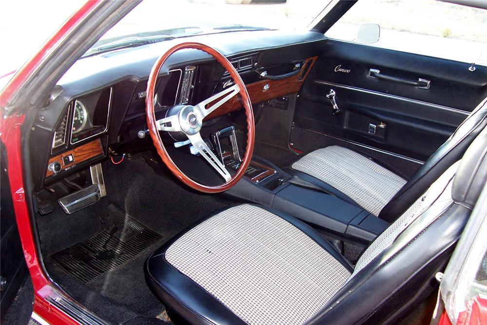 1969 CHEVROLET CAMARO COUPE - Interior - 71077