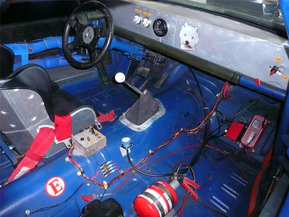 1972 FORD MUSTANG MACH 1 RACE CAR - Interior - 71079