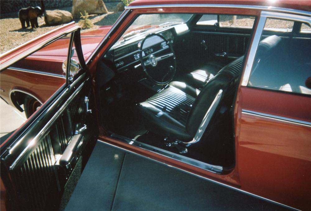 1964 OLDSMOBILE 442 2 DOOR HARDTOP - Interior - 71081