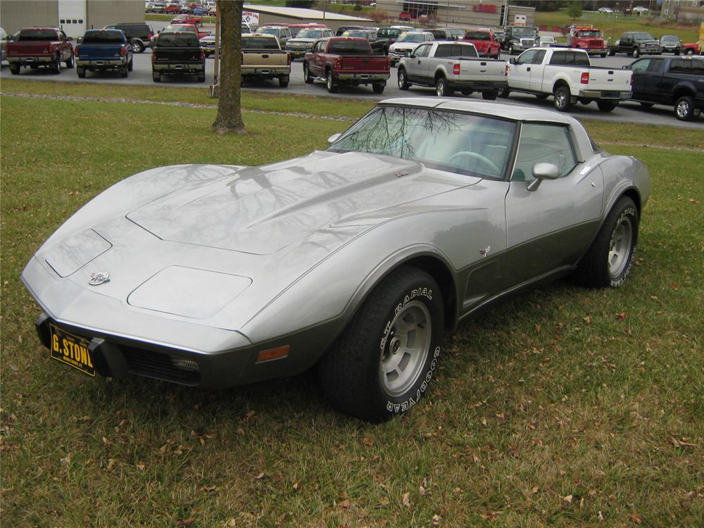 1978 CHEVROLET CORVETTE COUPE - Front 3/4 - 71085