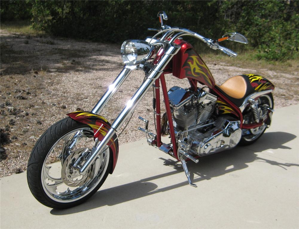 2005 ASVE CUSTOM CHOPPER - Front 3/4 - 71088