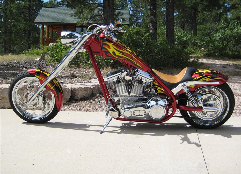 2005 ASVE CUSTOM CHOPPER - Side Profile - 71088