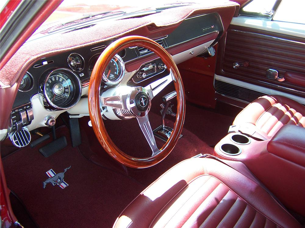 1968 FORD MUSTANG COUPE - Interior - 71089
