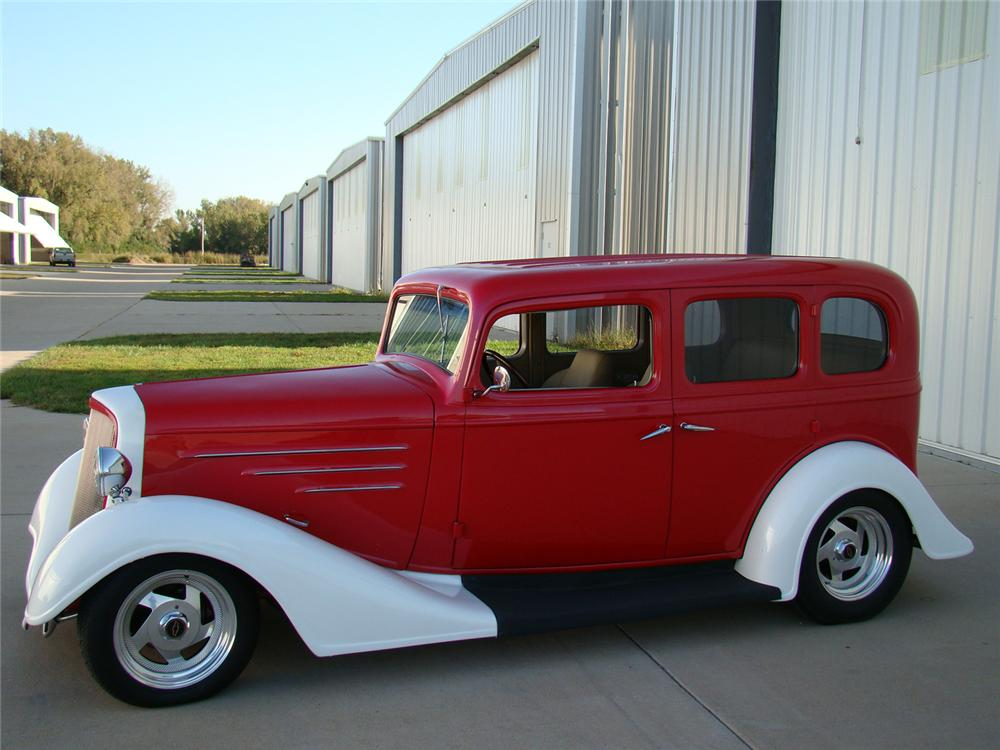 1934 chevrolet street rod 4 door sedan 71094