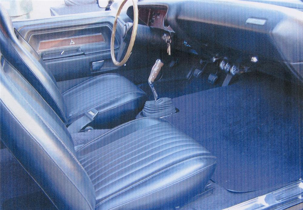1973 DODGE CHALLENGER 2 DOOR HARDTOP - Interior - 71102