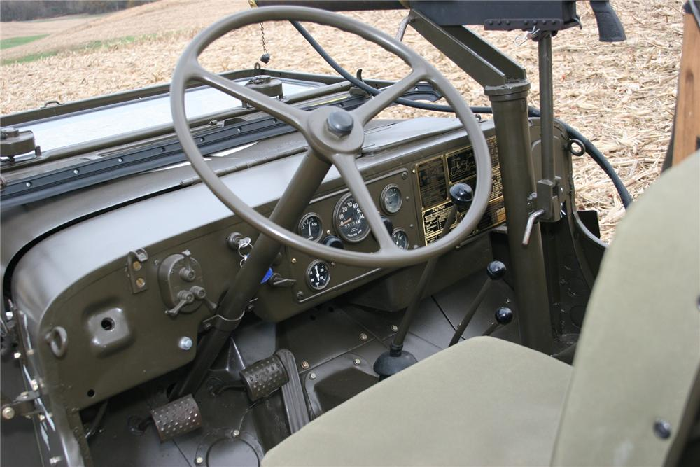 1951 WILLYS JEEP CONVERTIBLE - Interior - 71103