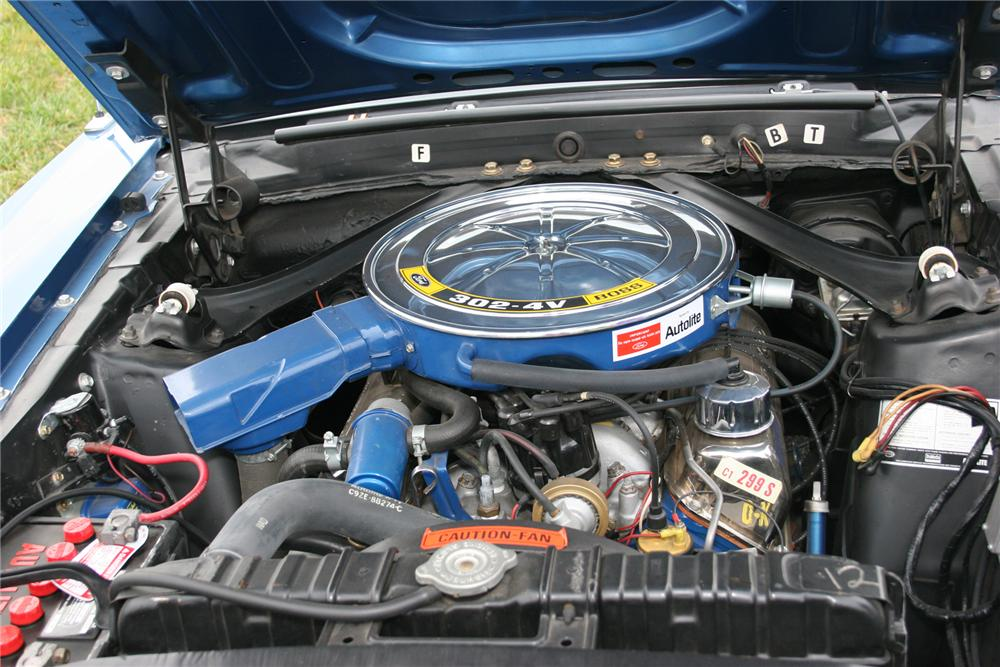 1969 FORD MUSTANG BOSS 302 FASTBACK - Engine - 71105
