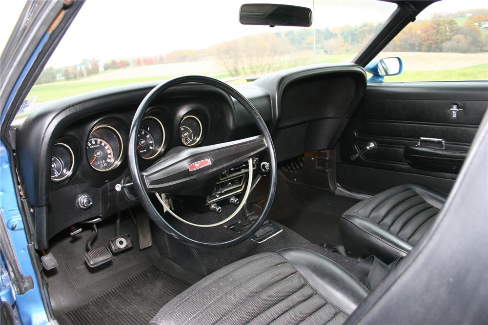 1969 FORD MUSTANG BOSS 302 FASTBACK - Interior - 71105