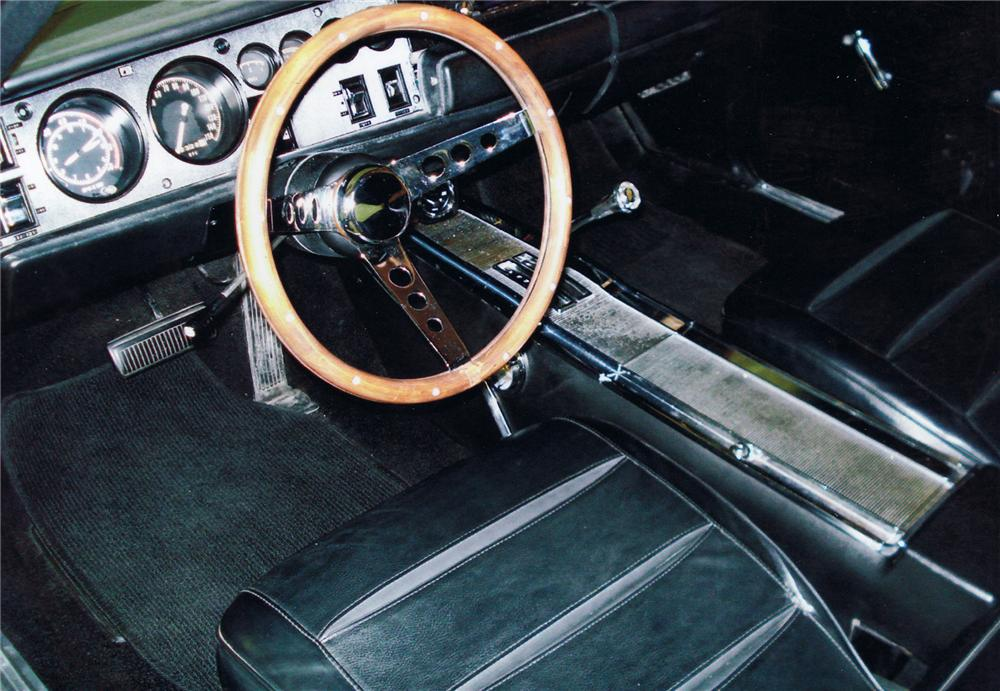 1968 DODGE CHARGER COUPE - Interior - 71111
