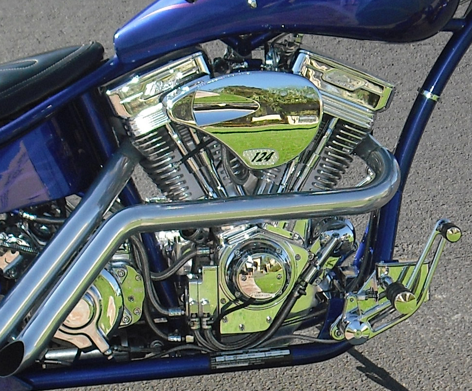 2006 AMP 300 AIR TAIL CUSTOM CHOPPER - Engine - 71114