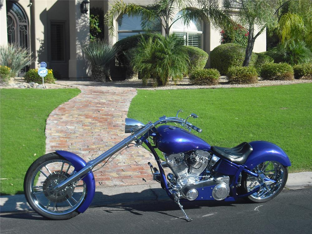 2006 AMP 300 AIR TAIL CUSTOM CHOPPER - Side Profile - 71114
