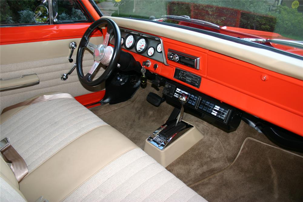 1966 CHEVROLET NOVA CUSTOM 2 DOOR HARDTOP - Interior - 71124