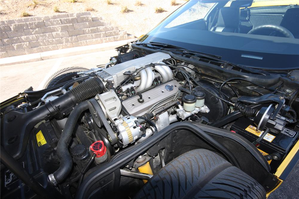 1988 CHEVROLET CORVETTE COUPE - Engine - 71126
