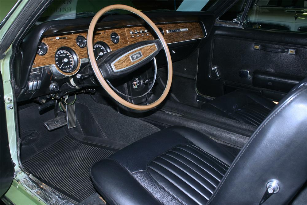 1968 Mercury Cougar 2 Door 71129