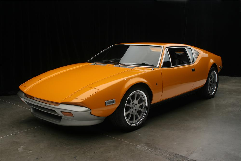 1973 DE TOMASO PANTERA CUSTOM 2 DOOR COUPE - Front 3/4 - 71131