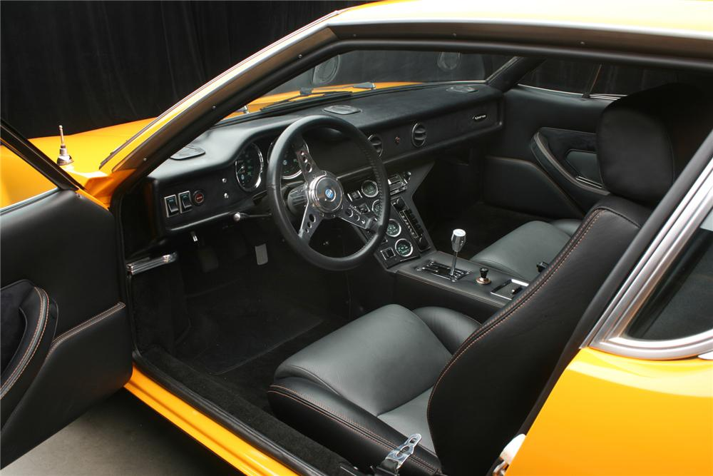 1973 DE TOMASO PANTERA CUSTOM 2 DOOR COUPE - Interior - 71131