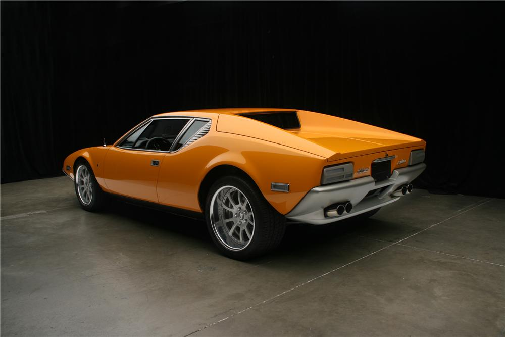 1973 DE TOMASO PANTERA CUSTOM 2 DOOR COUPE - Rear 3/4 - 71131