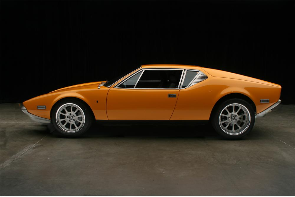 1973 DE TOMASO PANTERA CUSTOM 2 DOOR COUPE - Side Profile - 71131
