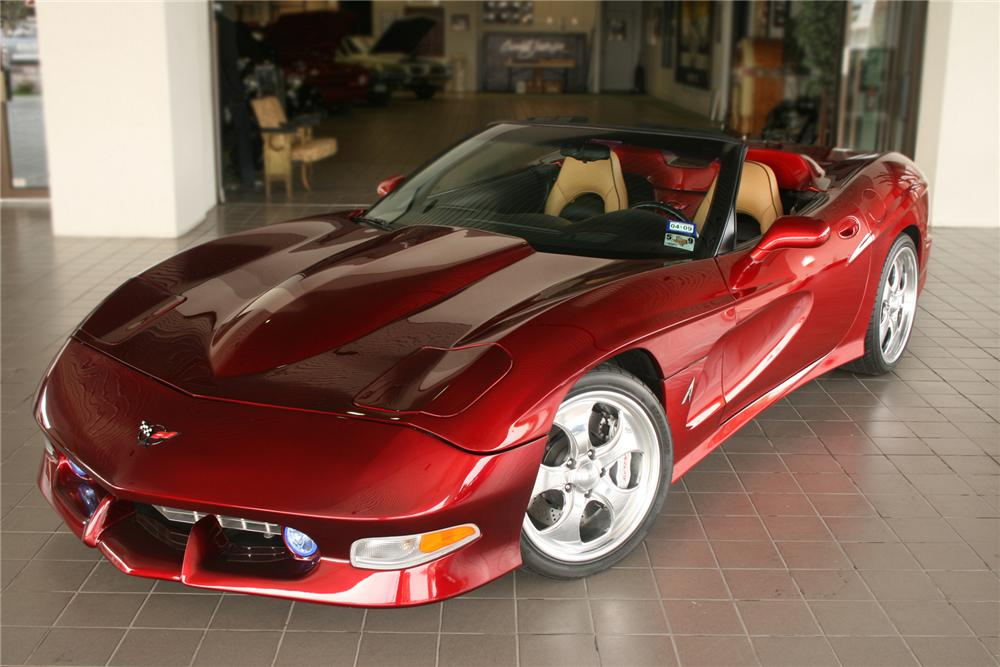 2000 CHEVROLET CORVETTE AVELATE CUSTOM CONVERTIBLE - Front 3/4 - 71134