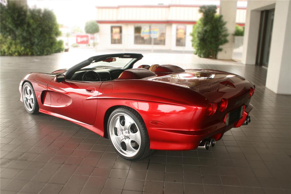 2000 CHEVROLET CORVETTE AVELATE CUSTOM CONVERTIBLE - Rear 3/4 - 71134