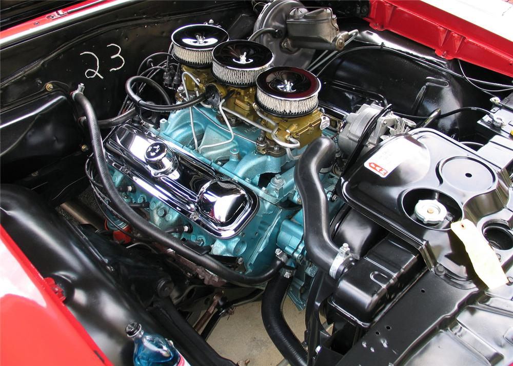 1965 PONTIAC GTO CONVERTIBLE - Engine - 71140