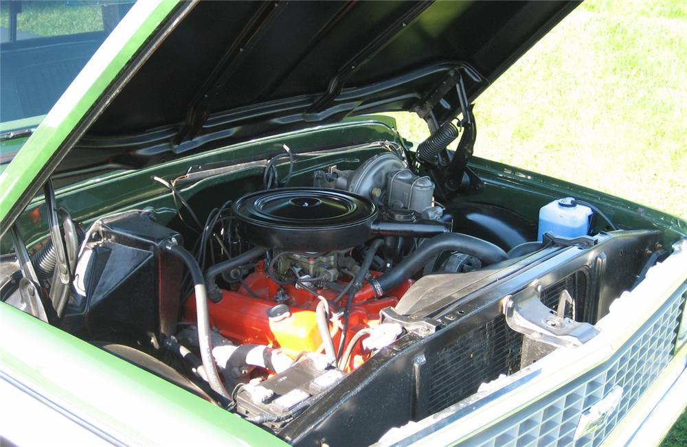 1972 CHEVROLET CHEYENNE SUPER 10 PICKUP - Engine - 71141