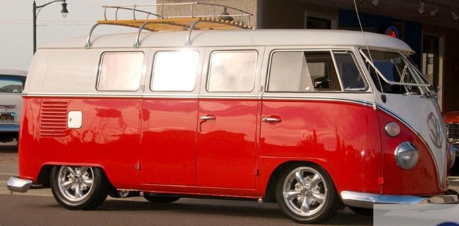 1966 Volkswagen Custom Bus 71147