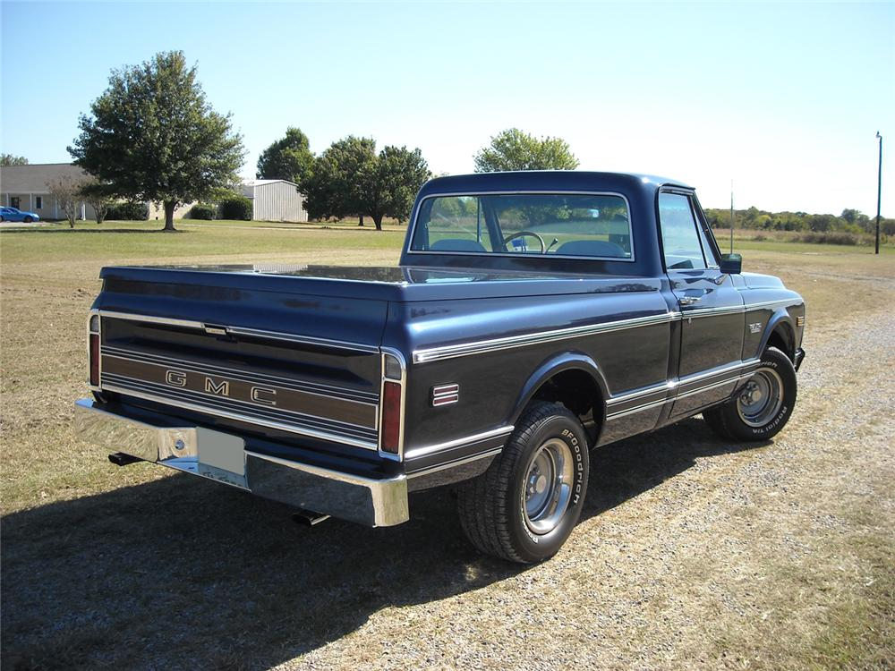 1972 GMC C1500 PICKUP - Rear 3/4 - 71158