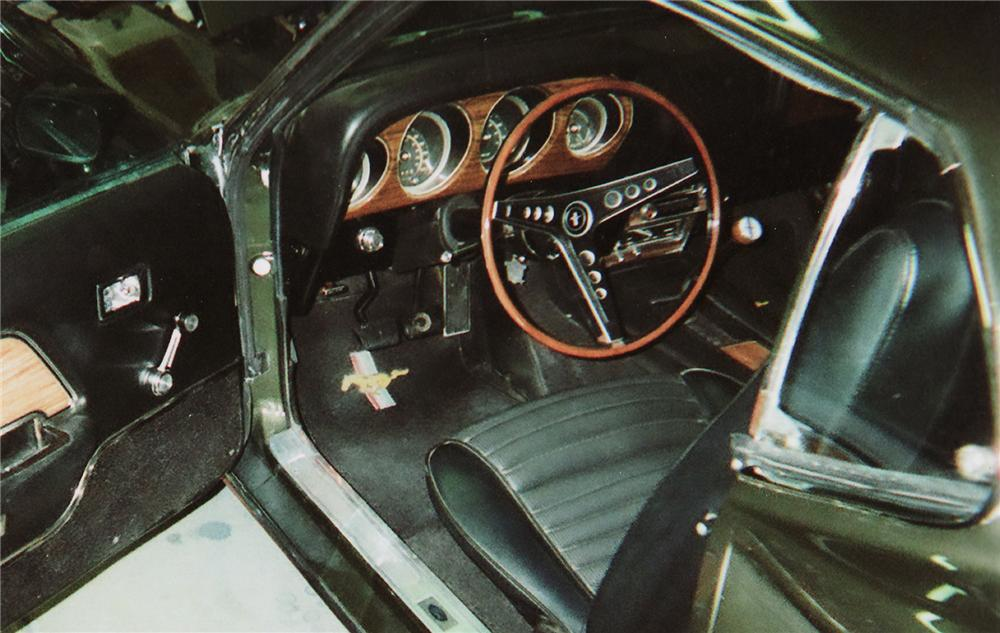 1969 FORD MUSTANG MACH 1 FASTBACK - Interior - 71173