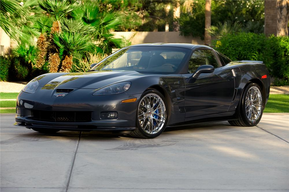 2009 chevrolet corvette zr 1 coupe 71175. Black Bedroom Furniture Sets. Home Design Ideas