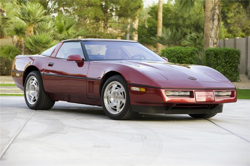 1990 CHEVROLET CORVETTE ZR-1 COUPE - Front 3/4 - 71177