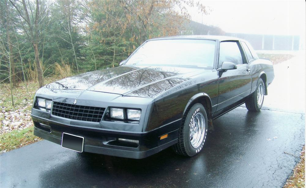 1986 CHEVROLET MONTE CARLO SS COUPE - Front 3/4 - 71180