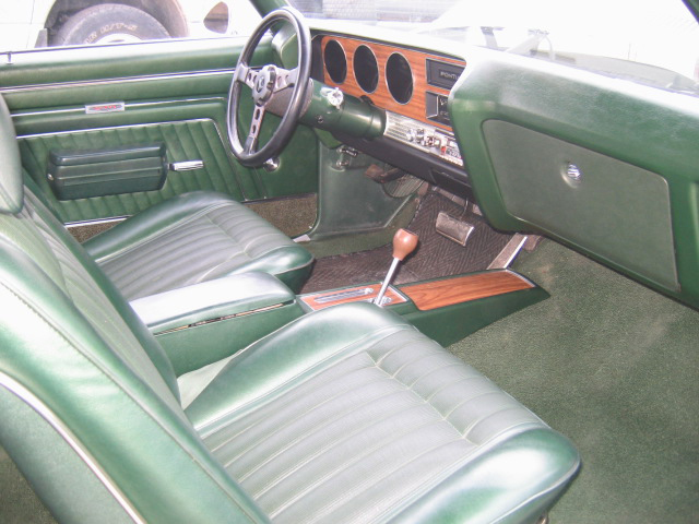 1970 PONTIAC GTO 2 DOOR COUPE - Interior - 71183